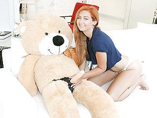 Consider, Jumbo teddy bear fucks a girl know one